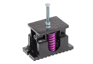 VMC Group CP-1D-900 Spring-Flex Vibration Isolator 900lbs Rated Floor Mounted